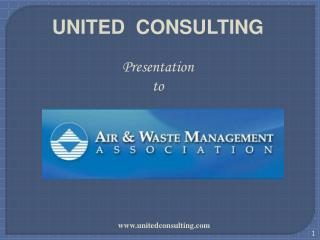 UNITED  CONSULTING Presentation to
