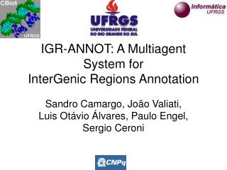 IGR-ANNOT: A Multiagent System for InterGenic Regions Annotation