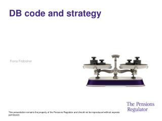 DB code and strategy
