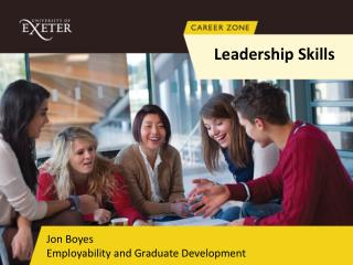 Jon Boyes Employability and Graduate Development