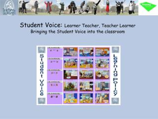 Student Voice: Learner Teacher, Teacher Learner Bringing the Student Voice into the classroom