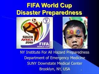 FIFA World Cup Disaster Preparedness