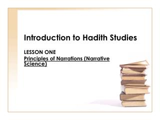 Introduction to Hadith Studies
