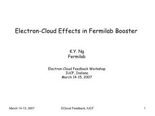 Electron-Cloud Effects in Fermilab Booster