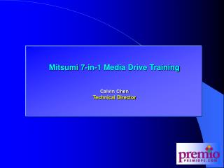 Mitsumi 7-in-1 Media Drive Training