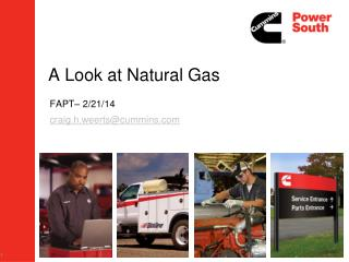 A Look at Natural Gas