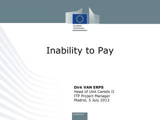 Inability to Pay