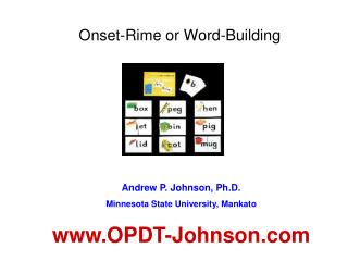 Onset-Rime or Word-Building