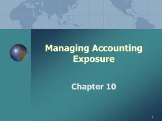 Managing Accounting Exposure