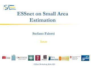 ESSnet on Small Area Estimation