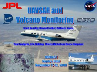 UAVSAR and Volcano Monitoring