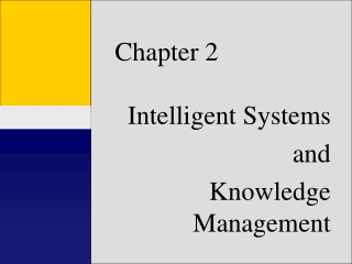 Introduction to Management Decision Support and Intelligent Systems