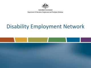 Disability Employment Network