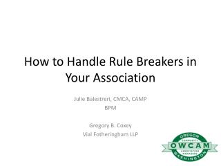 How to Handle Rule Breakers in Your Association