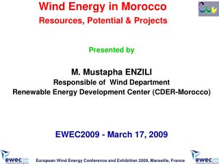Wind Energy in Morocco Resources, Potential & Projects