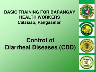 Control of  Diarrheal Diseases (CDD)