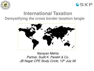 International Taxation Demystifying the cross border taxation tangle