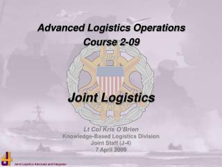 Advanced Logistics Operations Course 2-09