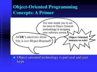 Object-Oriented Programming Concepts: A Primer