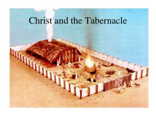 Christ and the Tabernacle