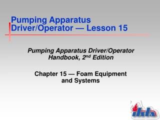 Foam Equipment  Systems