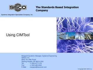 Using CIMTool