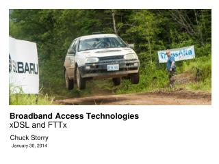 Broadband Access Technologies xDSL and FTTx