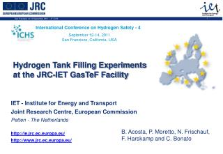 IET - Institute for Energy and Transport Joint Research Centre, European Commission