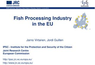 Fish Processing Industry in the EU