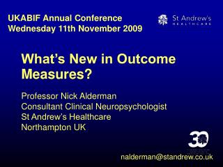 What's New in Outcome Measures?