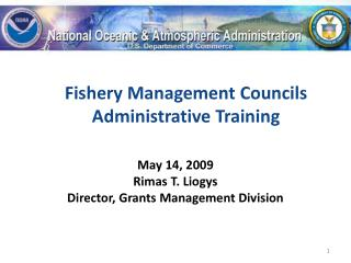 Fishery Management Councils Administrative Training
