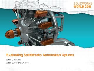 Evaluating SolidWorks Automation Options