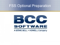 FSS Optional Preparation
