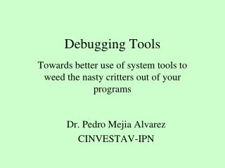 Debugging Tools