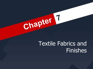 Chapter 18 Chemical Texture Services