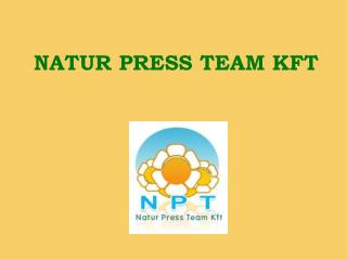 NATUR PRESS TEAM KFT