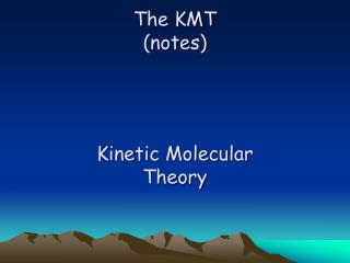 The KMT (notes)