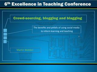 Crowd-sourcing, blogging and blagging