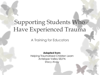Neurological Impact of Trauma and Attachment:  Implications for Treating Sexual Behavior Problems