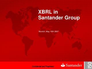 XBRL in Santander Group