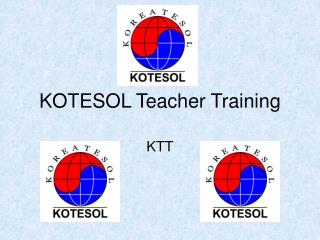 KOTESOL Teacher Training