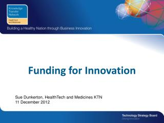 Funding for Innovation
