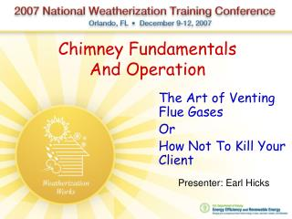 Chimney Fundamentals And Operation