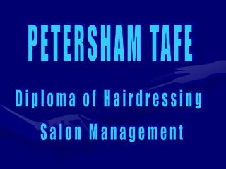 PETERSHAM TAFE