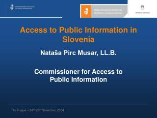 Access to Public Information in Slovenia