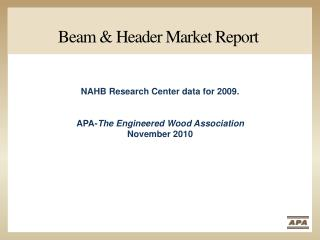 Beam & Header Market Report