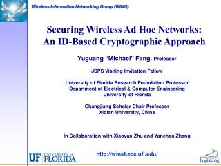 Securing Wireless Ad Hoc Networks: An ID-Based Cryptographic Approach