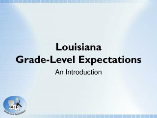 Louisiana Grade-Level Expectations