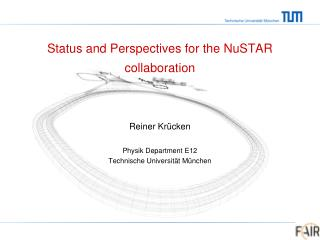 Status and Perspectives for the NuSTAR collaboration