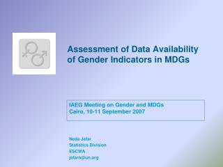 Assessment of Data Availability of Gender Indicators in MDGs
